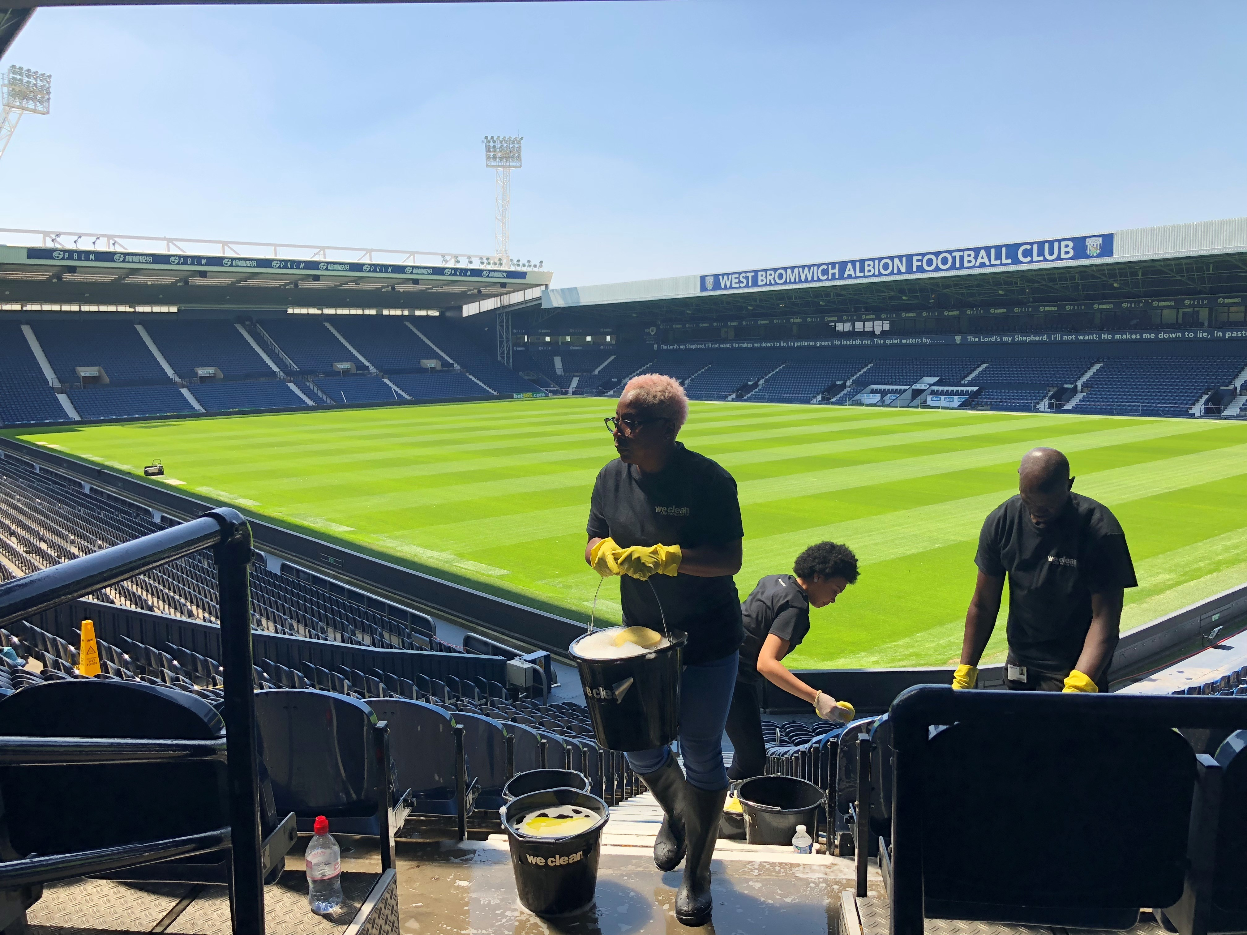 ops we clean shine @ The Hawthorns