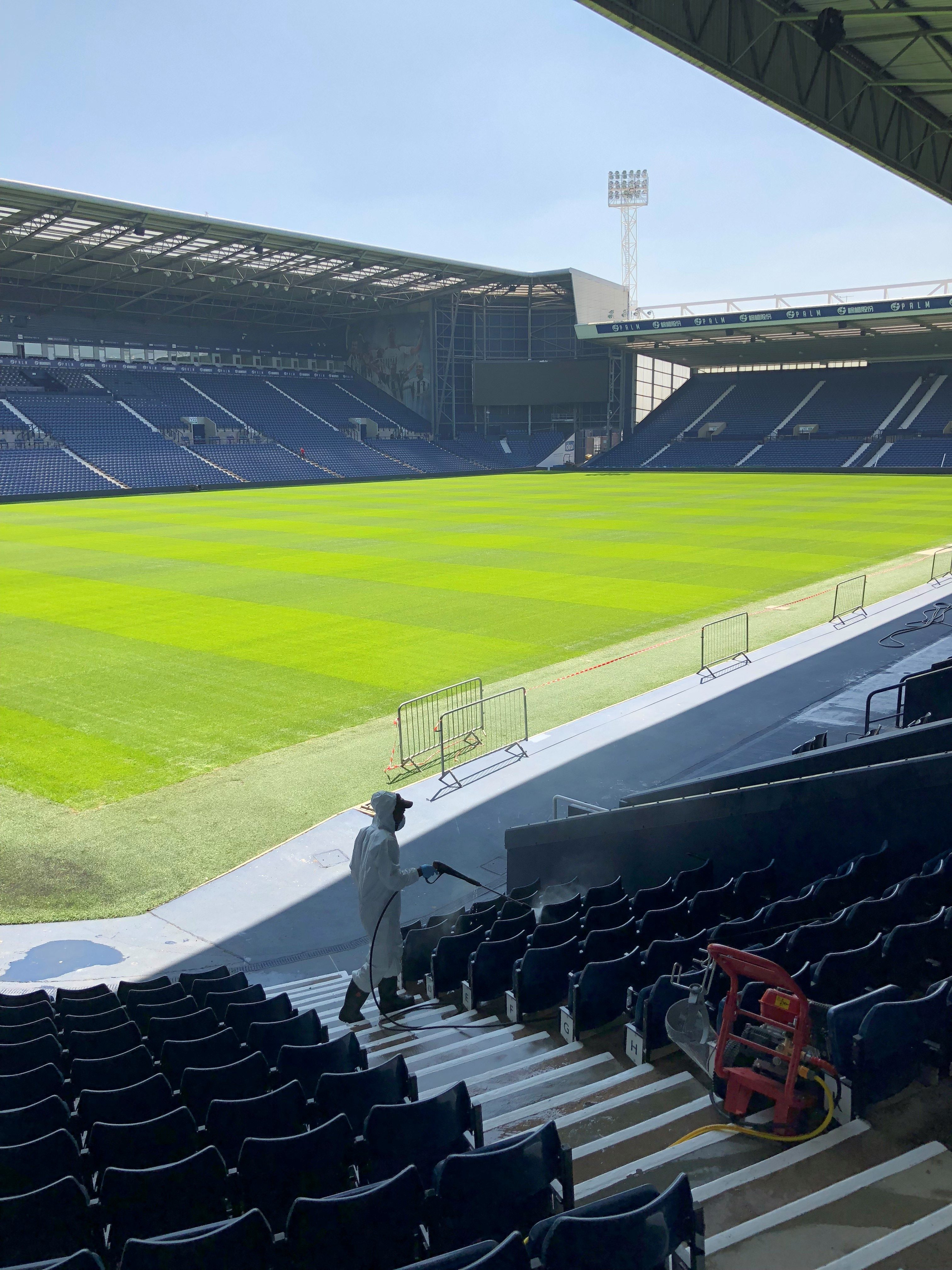 the-pitch-e1532279929460 we clean shine @ The Hawthorns